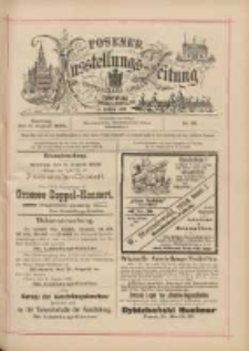 Posener Ausstellungs-Zeitung: Offizielles Organ der Provinzial-Gewerbe-Ausstellung 1895.08.11 Nr78