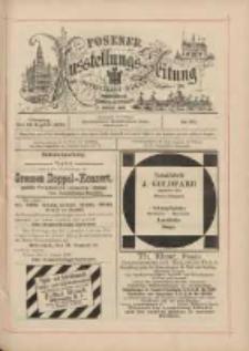 Posener Ausstellungs-Zeitung: Offizielles Organ der Provinzial-Gewerbe-Ausstellung 1895.08.13 Nr80