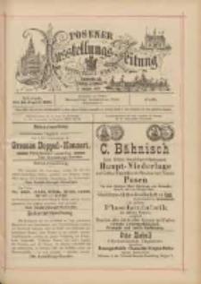 Posener Ausstellungs-Zeitung: Offizielles Organ der Provinzial-Gewerbe-Ausstellung 1895.08.14 Nr81