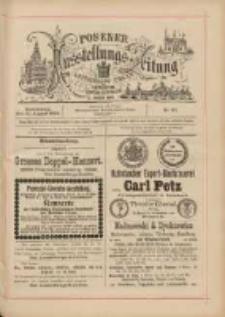 Posener Ausstellungs-Zeitung: Offizielles Organ der Provinzial-Gewerbe-Ausstellung 1895.08.15 Nr82