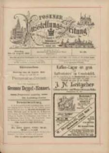 Posener Ausstellungs-Zeitung: Offizielles Organ der Provinzial-Gewerbe-Ausstellung 1895.08.18 Nr85