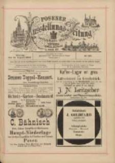 Posener Ausstellungs-Zeitung: Offizielles Organ der Provinzial-Gewerbe-Ausstellung 1895.08.19 Nr86