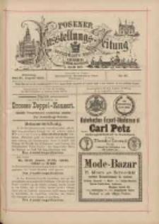 Posener Ausstellungs-Zeitung: Offizielles Organ der Provinzial-Gewerbe-Ausstellung 1895.08.20 Nr87