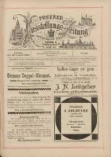 Posener Ausstellungs-Zeitung: Offizielles Organ der Provinzial-Gewerbe-Ausstellung 1895.08.23 Nr90