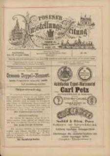Posener Ausstellungs-Zeitung: Offizielles Organ der Provinzial-Gewerbe-Ausstellung 1895.08.24 Nr91