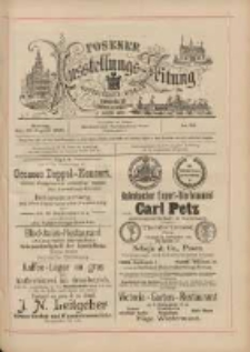 Posener Ausstellungs-Zeitung: Offizielles Organ der Provinzial-Gewerbe-Ausstellung 1895.08.26 Nr93