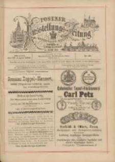 Posener Ausstellungs-Zeitung: Offizielles Organ der Provinzial-Gewerbe-Ausstellung 1895.08.28 Nr95