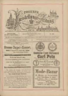 Posener Ausstellungs-Zeitung: Offizielles Organ der Provinzial-Gewerbe-Ausstellung 1895.08.29 Nr96