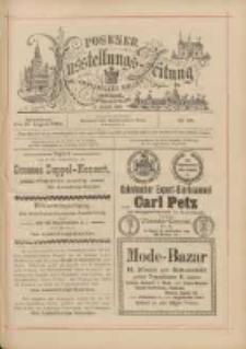 Posener Ausstellungs-Zeitung: Offizielles Organ der Provinzial-Gewerbe-Ausstellung 1895.08.31 Nr98