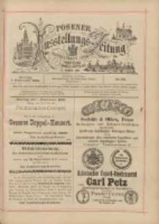 Posener Ausstellungs-Zeitung: Offizielles Organ der Provinzial-Gewerbe-Ausstellung 1895.09.01 Nr99