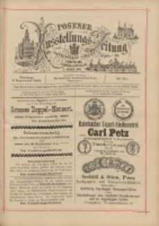 Posener Ausstellungs-Zeitung: Offizielles Organ der Provinzial-Gewerbe-Ausstellung 1895.09.03 Nr101