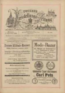 Posener Ausstellungs-Zeitung: Offizielles Organ der Provinzial-Gewerbe-Ausstellung 1895.09.04 Nr102