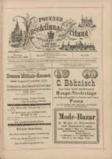 Posener Ausstellungs-Zeitung: Offizielles Organ der Provinzial-Gewerbe-Ausstellung 1895.09.06 Nr104