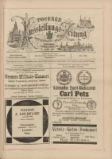 Posener Ausstellungs-Zeitung: Offizielles Organ der Provinzial-Gewerbe-Ausstellung 1895.09.07 Nr105