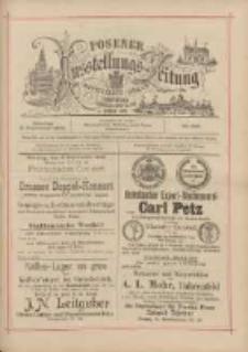 Posener Ausstellungs-Zeitung: Offizielles Organ der Provinzial-Gewerbe-Ausstellung 1895.09.08 Nr106