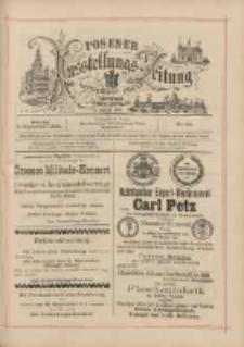 Posener Ausstellungs-Zeitung: Offizielles Organ der Provinzial-Gewerbe-Ausstellung 1895.09.09 Nr107