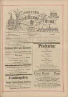 Posener Ausstellungs-Zeitung: Offizielles Organ der Provinzial-Gewerbe-Ausstellung 1895.09.11 Nr109