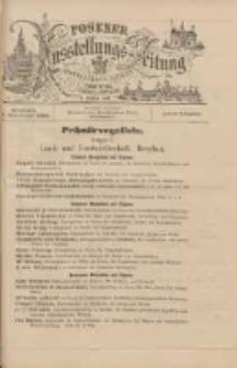 Posener Ausstellungs-Zeitung: Offizielles Organ der Provinzial-Gewerbe-Ausstellung 1895.09.11:extra Ausgabe