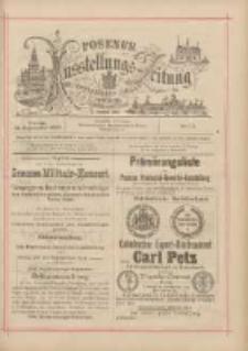 Posener Ausstellungs-Zeitung: Offizielles Organ der Provinzial-Gewerbe-Ausstellung 1895.09.13 Nr111