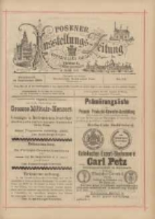 Posener Ausstellungs-Zeitung: Offizielles Organ der Provinzial-Gewerbe-Ausstellung 1895.09.14 Nr112