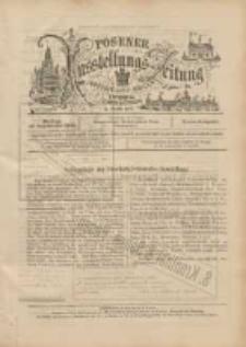Posener Ausstellungs-Zeitung: Offizielles Organ der Provinzial-Gewerbe-Ausstellung 1895.09.16: extra Ausgabe