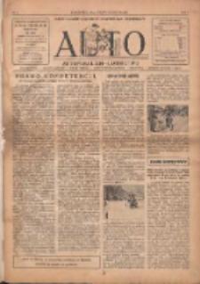 Auto: ilustrowane czasopismo sportowo-techniczne: automobilizm, lotnictwo, kolarstwo, sporty wodne, piłka nożna, sporty towarzyskie, atletyka, sporty zimowe i inne 1922.06.20 R.1 Nr3