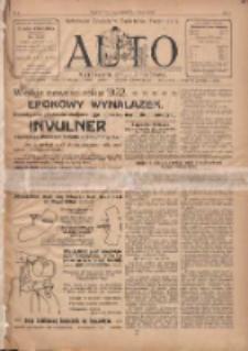 Auto: ilustrowane czasopismo sportowo-techniczne: automobilizm, lotnictwo, kolarstwo, sporty wodne, piłka nożna, sporty towarzyskie, atletyka, sporty zimowe i inne 1922.09.05 R.1 Nr8