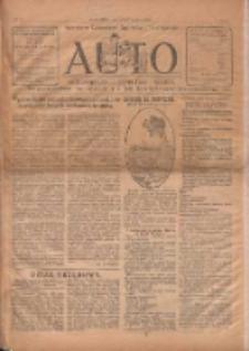 Auto: ilustrowane czasopismo sportowo-techniczne: automobilizm, lotnictwo, sporty 1922.12.01 R.1 Nr13