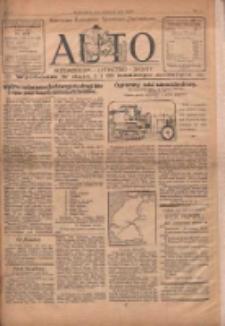 Auto: ilustrowane czasopismo sportowo-techniczne: automobilizm, lotnictwo, sporty 1922.12.15 R.1 Nr14