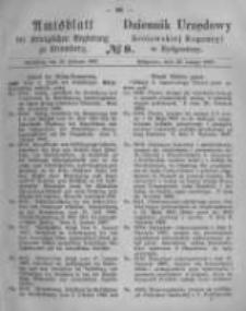 Amtsblatt der Königlichen Preussischen Regierung zu Bromberg. 1867.02.22 No.8