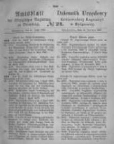 Amtsblatt der Königlichen Preussischen Regierung zu Bromberg. 1867.06.14 No.24