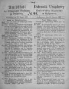 Amtsblatt der Königlichen Preussischen Regierung zu Bromberg. 1867.08.23 No.34