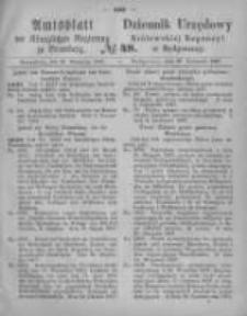 Amtsblatt der Königlichen Preussischen Regierung zu Bromberg. 1867.11.29 No.48