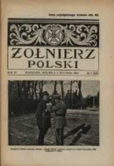 Żołnierz Polski : pismo poświęcone czynowi i doli żołnierza polskiego. R.4 1922 nr2
