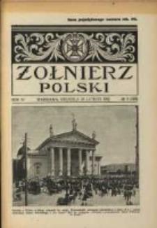 Żołnierz Polski : pismo poświęcone czynowi i doli żołnierza polskiego. R.4 1922 nr9