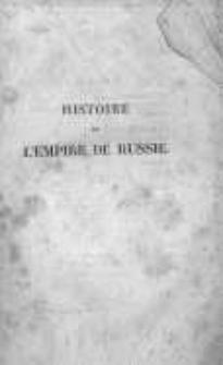 Histoire de l'empire de Russie. T.9
