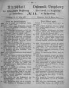 Amtsblatt der Königlichen Preussischen Regierung zu Bromberg. 1867.03.15 No.11