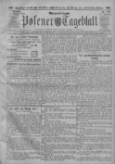Posener Tageblatt 1912.08.25 Jg.51 Nr398