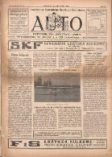 Auto: ilustrowane czasopismo sportowo-techniczne: automobilizm, lotnictwo, sporty 1923.11.01 R.2 Nr21