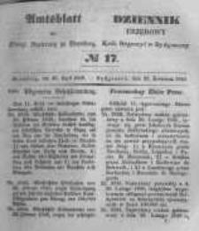 Amtsblatt der Königlichen Preussischen Regierung zu Bromberg. 1848.04.28 No.17