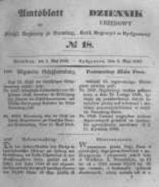 Amtsblatt der Königlichen Preussischen Regierung zu Bromberg. 1848.05.05 No.18