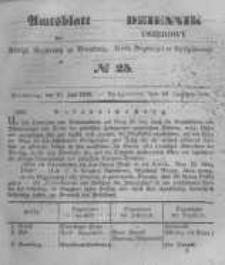 Amtsblatt der Königlichen Preussischen Regierung zu Bromberg. 1848.06.16 No.25
