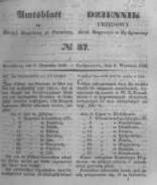 Amtsblatt der Königlichen Preussischen Regierung zu Bromberg. 1848.09.08 No.37