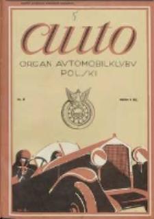Auto: ilustrowane czasopismo sportowo-techniczne: organ Automobilklubu Polski oraz Klubów Afiliowanych: revue sportive et technique de l' automobile: organe officiel de l'Automobile-Club de Pologne et des clubs afiliés 1925.04.20 R.4 Nr8