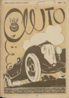 Auto: ilustrowane czasopismo sportowo-techniczne: organ Automobilklubu Polsk oraz Klubów Afiliowanychi: revue sportive et technique de l' automobile: organe officiel de l'Automobile-Club de Pologne et des clubs afiliés 1925.09.10 R.4 Nr17