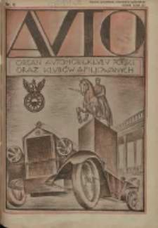 Auto: ilustrowane czasopismo sportowo-techniczne: organ Automobilklubu Polski oraz Klubów Afiliowanych: revue sportive et technique de l' automobile: organe officiel de l'Automobile-Club de Pologne et des clubs afiliés 1926.08.20 R.5 Nr8