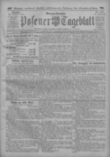 Posener Tageblatt 1912.10.20 Jg.51 Nr494