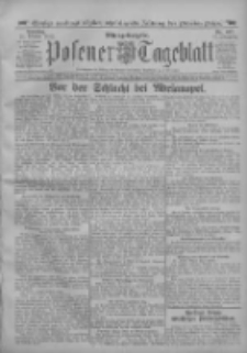 Posener Tageblatt 1912.10.22 Jg.51 Nr497