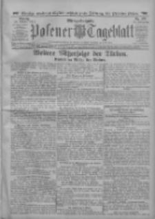 Posener Tageblatt 1912.10.28 Jg.51 Nr507