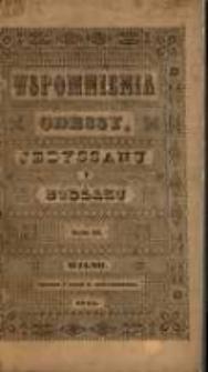 Wspomnienia Odessy, Jedyssanu i Budżaku: dziennik przejażdżki w roku 1843, od 22 czerwca do 11 września. T. 2